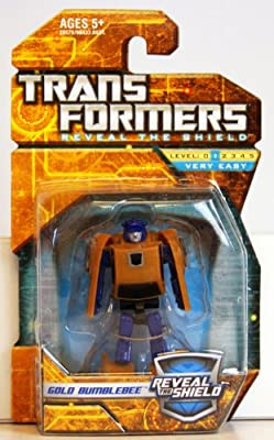 Transformers Hunt for the Decepticons Hasbro Legends Mini Action Figure Gold Bumblebee