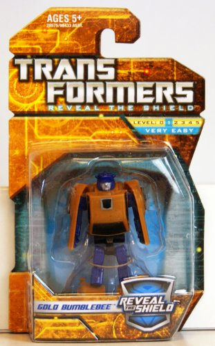 Transformers Hunt for the Decepticons Hasbro Legends Mini Action Figure Gold Bumblebee (Bumblebee Transformer 4)