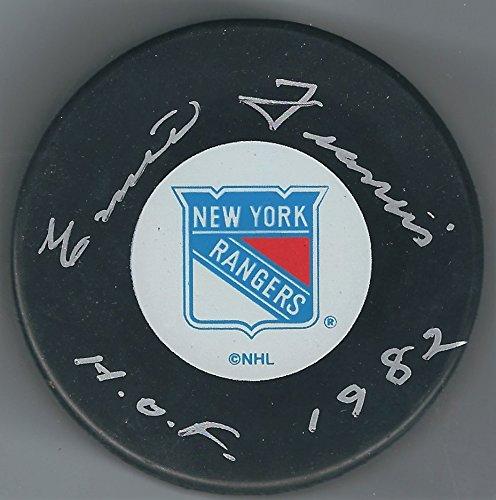 Autographed Emile Francis New York Rangers ()