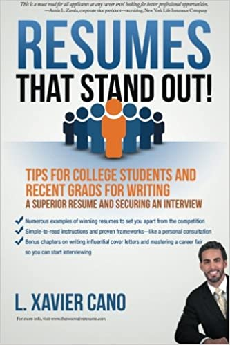 Resumes That Stand Out Tips for College Students and Recent Grads