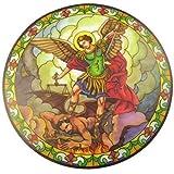 St. Michael attrape soleil verre teinté autocollant vitre réutilisable 15.2cm anti soleil