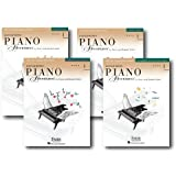 Accelerated Piano Adventures Level 1 - Four Book Learning Library - Includes Lesson, Theory, Performance, and Technique…