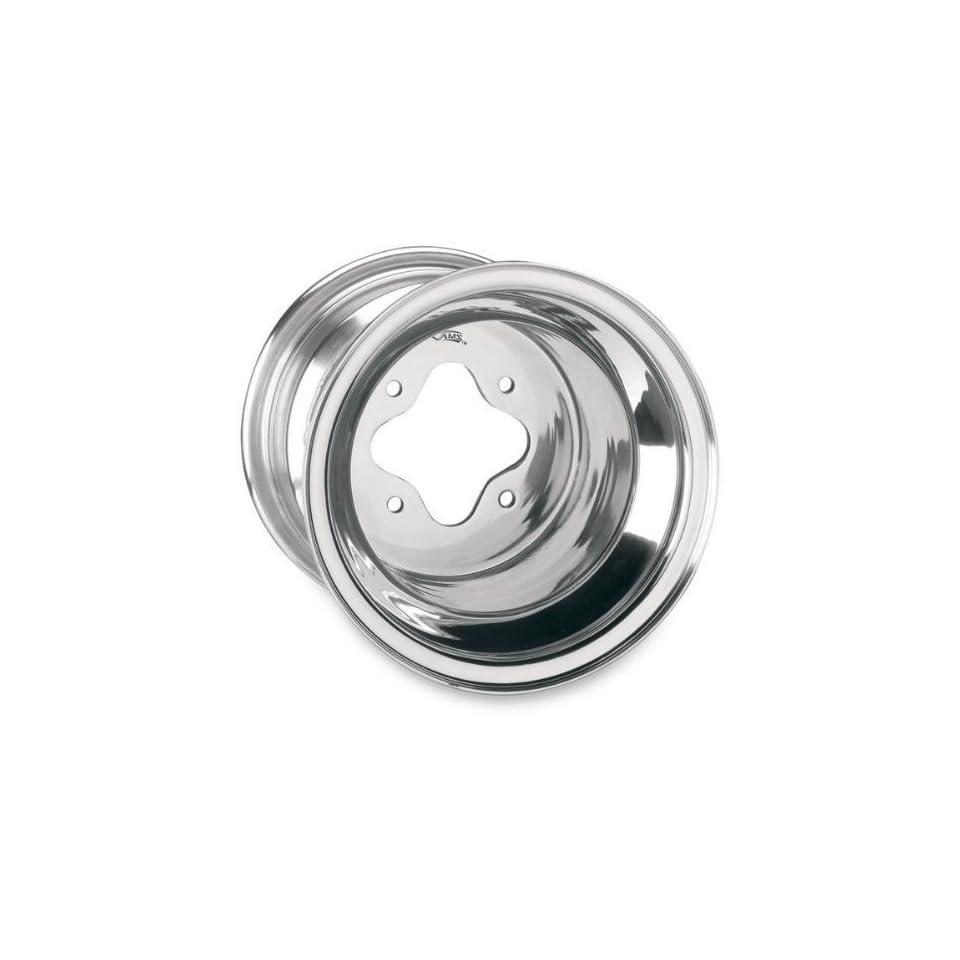 AMS Standard Lip Spun Aluminum Wheel   10x5   3+2 Offset   4/156   Polished , Wheel Rim Size 10x5, Rim Offset 3+2, Color Polished, Bolt Pattern 4/156, Position Front 261 105156P3