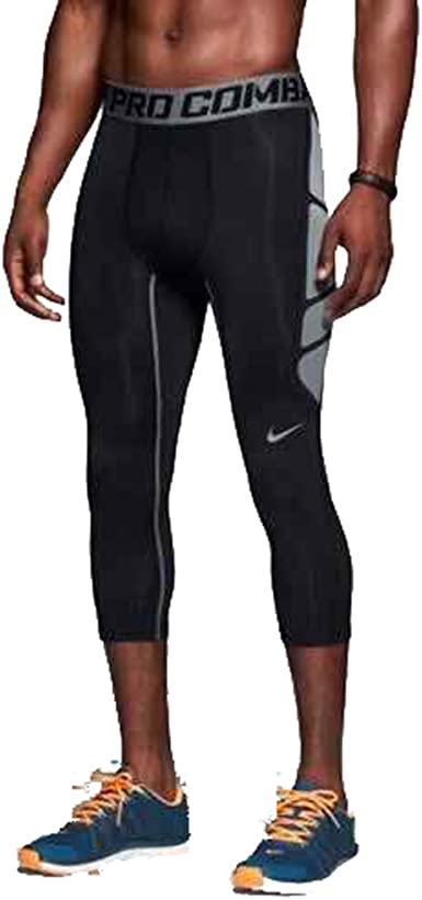 visa hierba Influyente  Amazon.com: Nike Pro Combat Hypercool para hombre mallas de compresión  617348 – 010 tamaño extragrande: Clothing