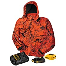 DEWALT DCHJ063C1-L 20V/12V MAX Blaze Camo Heated Jacket Kit, Large