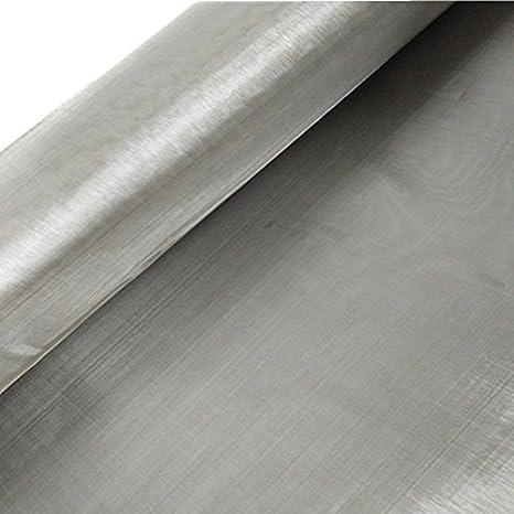 Amazon.com: 316 malla de alambre tejida de acero inoxidable ...