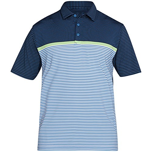 Under Armour 2018 Hommes Crestable Playoff manches courtes Polo Polo White/Academy XL IC5IAR7xiZ