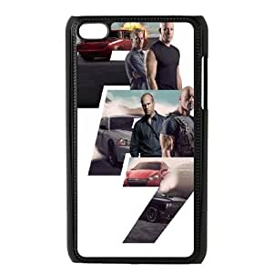 Furious 7 SANDY7037456 Phone Back Case Customized Art Print Design Hard Shell Protection Ipod Touch 4
