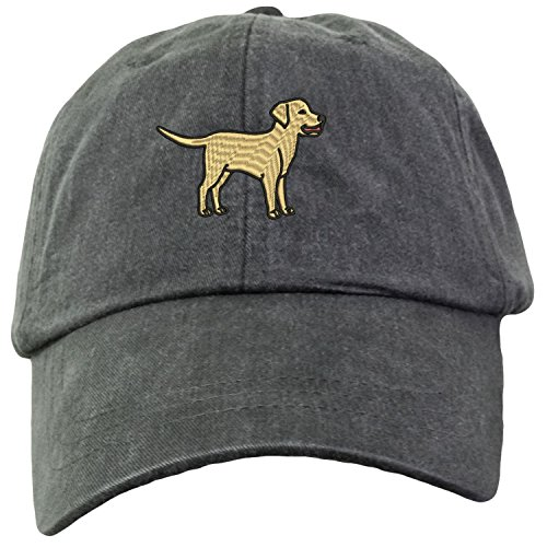 Lane Weston Yellow Labrador Retriever Embroidered Baseball Hat Unisex Unstructured ()
