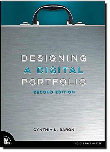 Designing a Digital Portfolio (2nd Edition) (Voices That Matter)