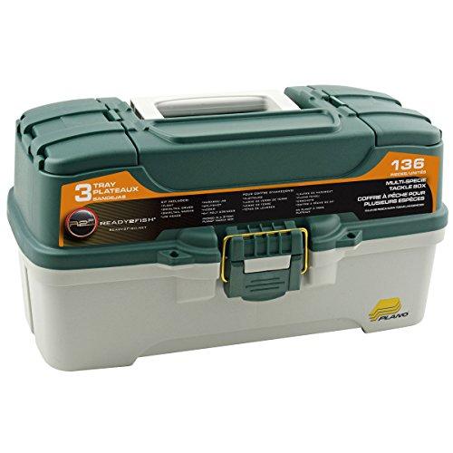 2 Poly Value Kit - Ready to Fish 136 piece 3 Tray Tackle Box