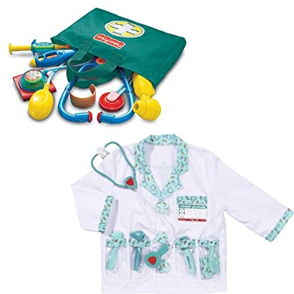 Buy Fisher Price Kids Medical Kit And Melissa And Doug