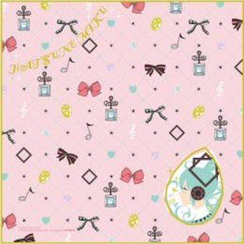 Hatsune Miku [ Music Box Doll ] oversized handkerchief B ribbon ()