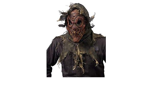 Horror-Shop Weinberg máscara de espantapájaros rojo: Amazon.es: Juguetes y juegos