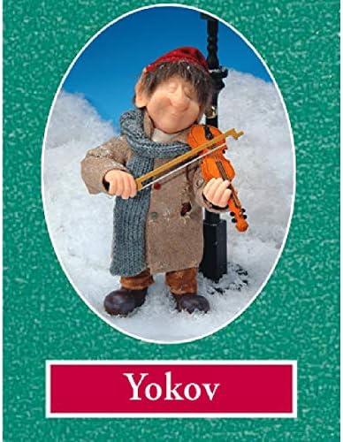 Zims 10.5 The Elves Themselves Yokov Collectible Christmas Elf Figure