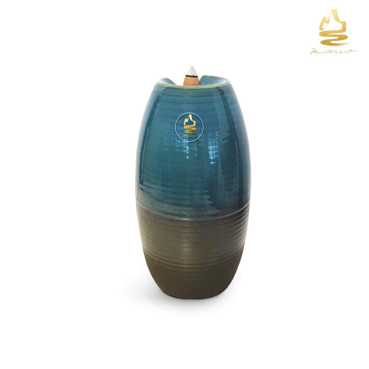 MountainMist Backflow Incense Burner | Incense Burner Holder | Premium 10 Pack Waterfall Backflow Incense Cones Included | Perfect Ornament Holder or Room Scent Diffuser | Bakhoor Burner Zen Decor by MountainMist (Image #9)