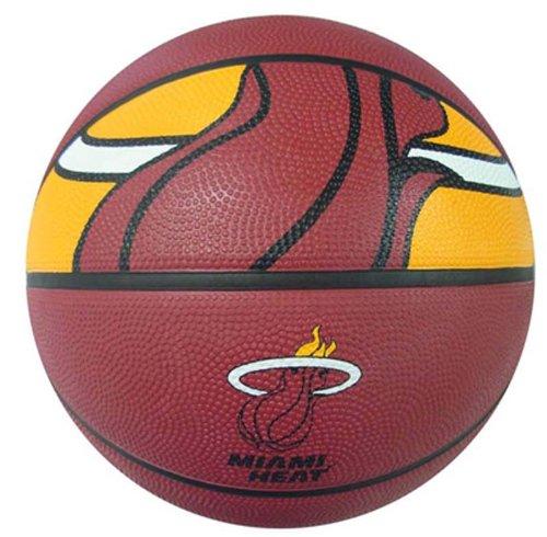 Spalding NBA Miami Heat Courtside Rubber - Miami Mall Stores