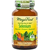 MegaFood - Selenium, Antioxidant Support for Heart and Prostate Health, 60 Tablets (FFP)