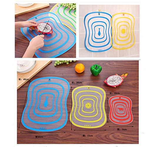 JonerytimeFat Scrub Category Cutting Board Non - Slip Fruit Rubbing Panel Kitchen (S) by Jonerytime_Home & Garden (Image #4)