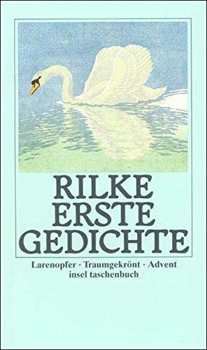 Erste Gedichte: Larenopfer. Traumgekrönt. Advent (insel taschenbuch)