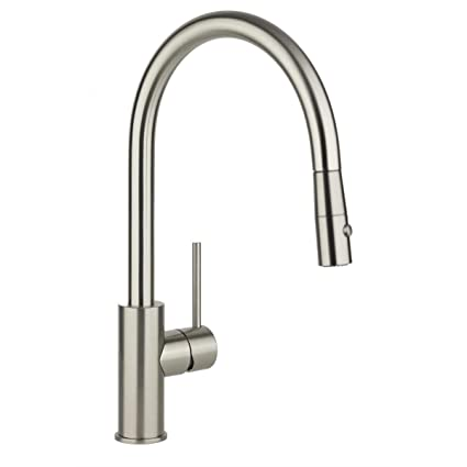 Elkay Lkha2031nk Harmony Brushed Nickel Single Lever Pull Down Spray
