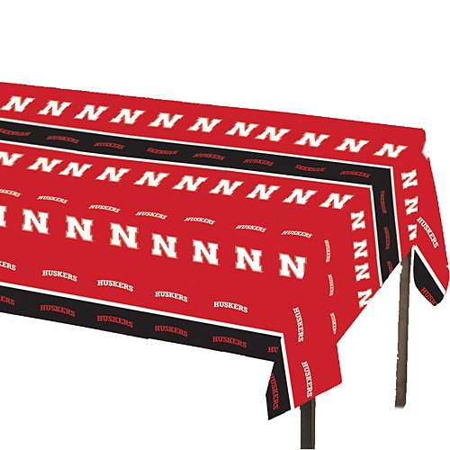 Rico NCAA Nebraska Cornhuskers 8-Foot Table Cover