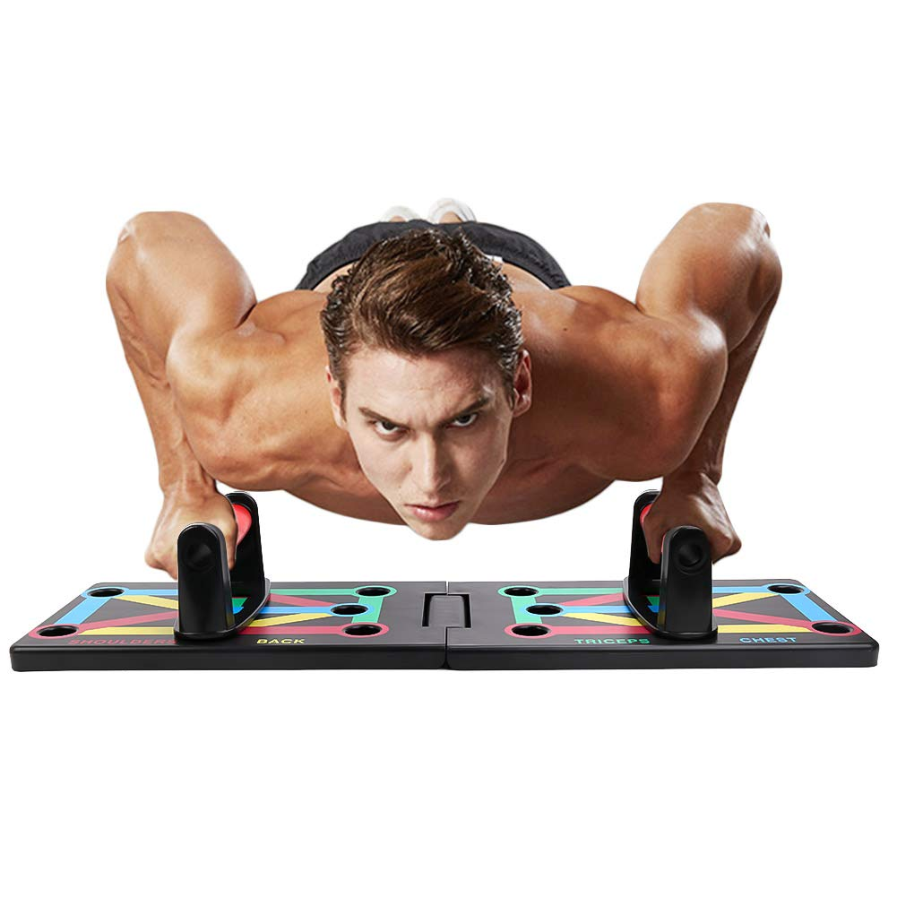 Push Up Board, VAlinks 9 in 1 Portable Push Up System for Fitness Exercise Body Training