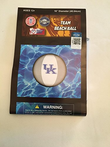(NCAA Kentucky Wildcats Beach Ball, One Size Fits All, Team)