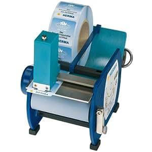 Herma - Dispensador de etiquetas (eléctrico, 100 etiquetas), color azul