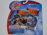 Bakugan Cards- Bakugan Battle Brawlers Card Power Pack 1 Set of 10 Cards- Ventus Series