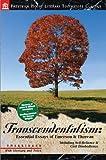 emerson and thoreau - Transcendentalism: Essential Essays of Emerson & Thoreau
