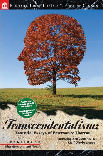 transcendentalism essential essays of emerson thoreau kindle  transcendentalism essential essays of emerson thoreau by thoreau henry david ralph