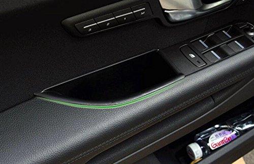 Pl/ástico interior frontal lateral puerta de almacenamiento Caja Soporte De Coche 2pcs para coche accesorios lreq16