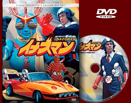 Inazuman DVD 4 Disc Collector's Edition Box Set