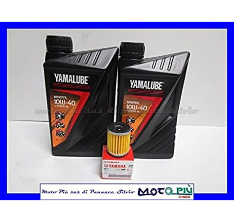 Kit Tagliando Yamalube 2 litros aceite + Filtro para Yamaha X-Max ...