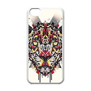 MMZ DIY PHONE CASEAnimal Art Artificial Customized Cover Case with Hard Shell Protection for iphone 4/4s Case lxa837160