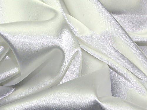 Sold per Metre Stretch Satin Fabric