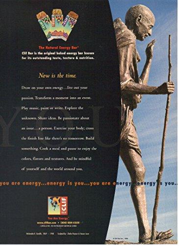 print-ad-1999-clif-energy-bar-mohandas-gandhi-you-are-energyenergy-is-you