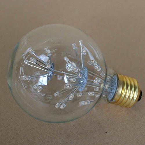 LED Firework Bulb Retro Style Bulb E27 220V/5W Decorative Lamp for Christmas Halloween Festival (220 Volt Halloween)
