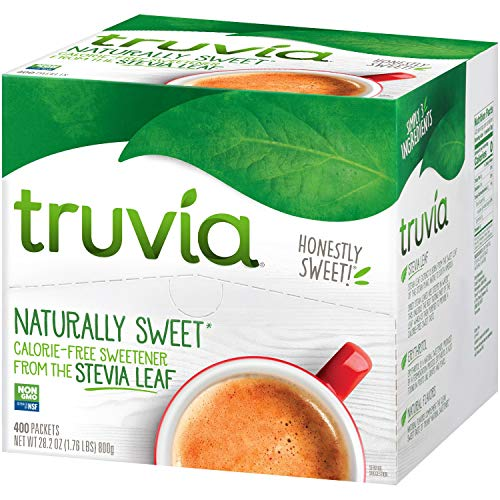 Recipes Sweetener Natural - Truvia Natural Sweetener, 400 Packets