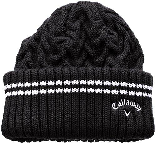 (キャロウェイ アパレル) Callaway Apparel 定番 ロゴ入り ニットキャップ (ワンポイントロゴ入り) 帽子 ゴルフ/247-7284901 [ レディース ]