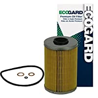 ECOGARD X84 Cartridge Engine Oil Filter for Conventional Oil - Premium Replacement Fits BMW 535i, 735i, 635CSi, 735iL, M5, 633CSi, M6, 733i, 535is, 528i, 533i, L6, L7, 530i