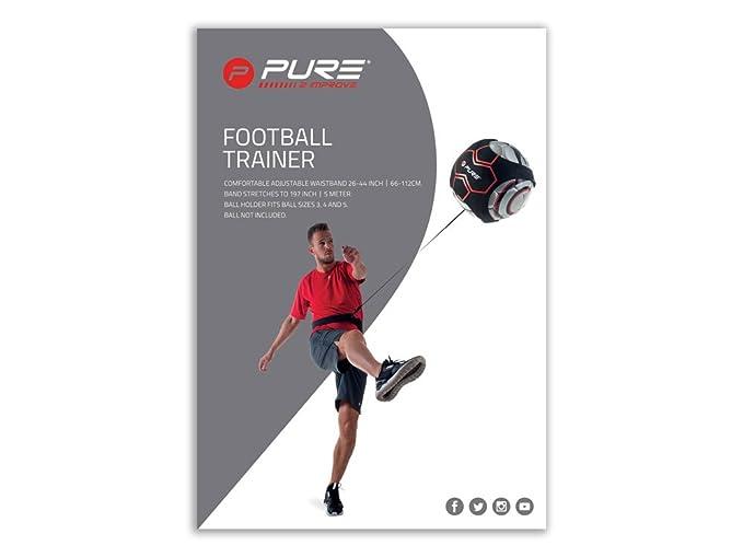 Pure Solo Fútbol Kick Off Trainer con barem Cinturón ...