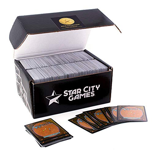 Star City Games 1000 Assorted Magic: The Gathering Cards Gold Collection