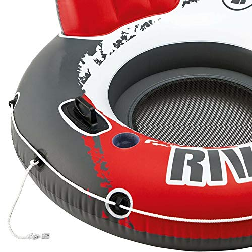 MRT SUPPLY River Run 1 53'' Inflatable Floating Tube Lake Pool Ocean Raft (36 Pack) with Ebook by MRT SUPPLY (Image #6)