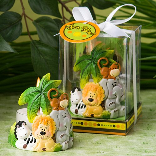 56 Jungle Critters Collection Candle Favors