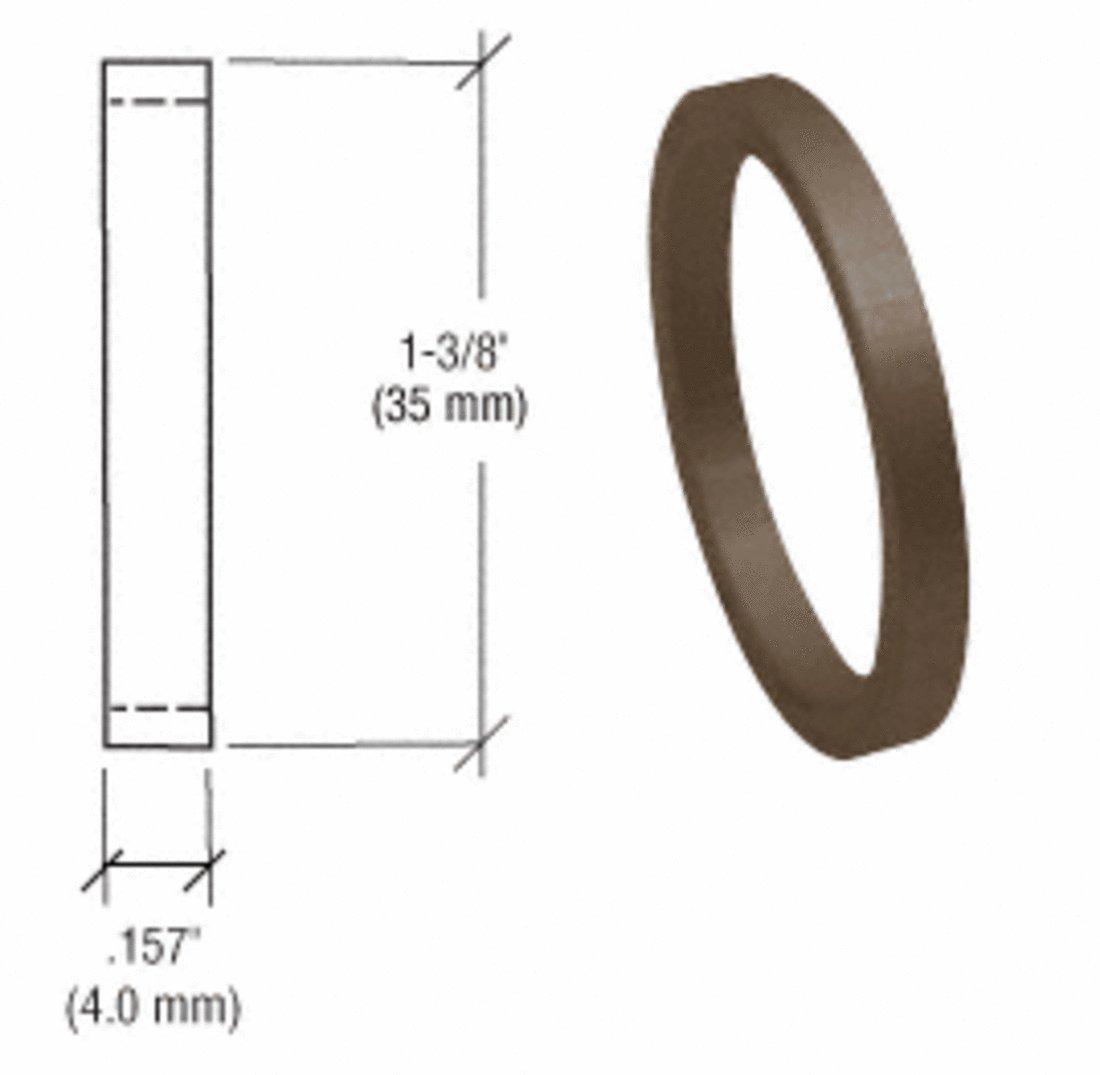 CRL Dark Bronze .157'' Straight Cylinder Ring