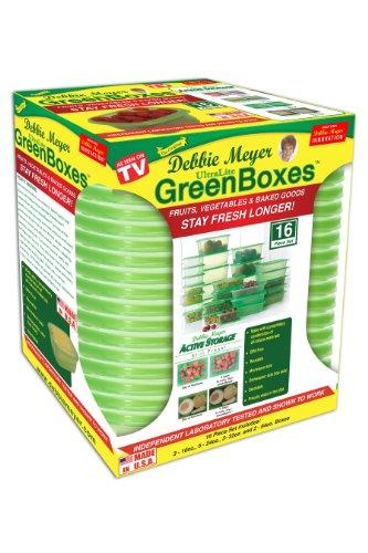 Debbie Meyer Ultra Lite Green Boxes Set, 16-Piece (64 Ounce Box)