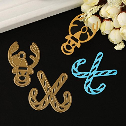(Flower Metal Cutting Dies Stencils DIY Scrapbooking Album Paper Card Crafts by Topunder C)