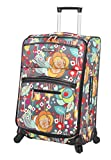 Lily Bloom Hard Shell Luggage Hardside Spinner Cute Suitcase 24in Deal
